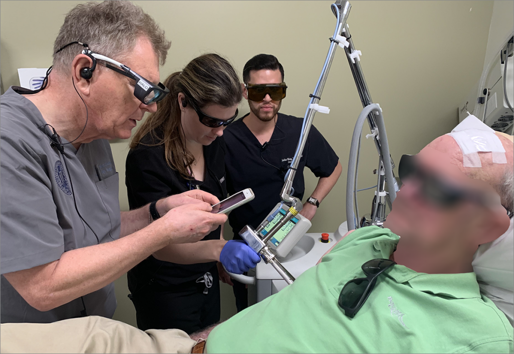 Fig. 2: Evaluation of clinical response from Sciton Nd:YAG laser treatment.